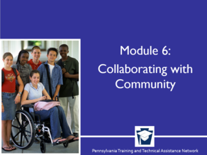Enhancing Family Engagement Series Module 6: Collaborating with the Community