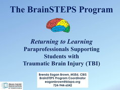 Paraprofessional's Role in Supporting Students with Traumatic Brain Injuries