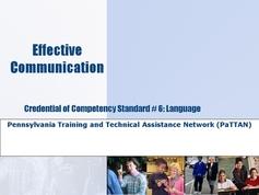 Standard 06 - Language