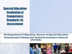 Standard 08 - Assessment