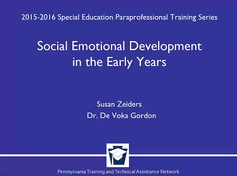 Social Emotional Development in the Early Years