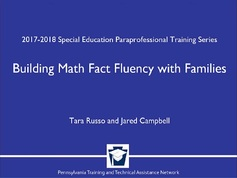 Building Math Fact Fluency with Families