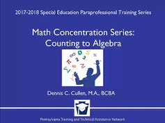 Math Concentration Series: Counting to Algebra