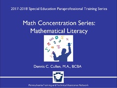 Math Concentration Series: Mathematical Literacy