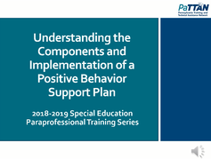 Understanding the Components and Implementation of a Behavior Plan