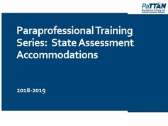 PSSA and PASA Accommodations: What is Allowed and Appropriate